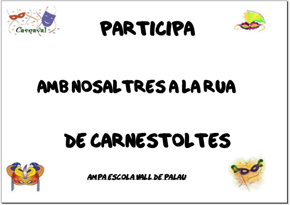 cartell participa rua 2013